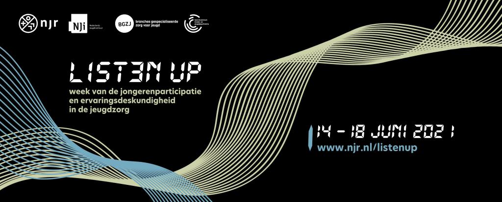 Listen Up: online event over jongerenparticipatie en ervaringsdeskundigheid in de jeugdhulp